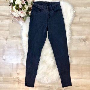 J Brand 'Maria' Navy Skinny Pants Size 26